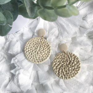 Jewelry - Handmade Woven Earrings